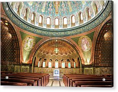 Memorial Chapel Acrylic Print by Art Spectrum