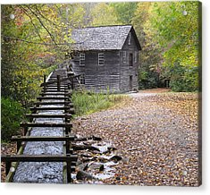 Mingus Mill - Color Acrylic Print by Fred Baird