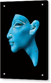 Nefertiti Acrylic Print by Egyptian School