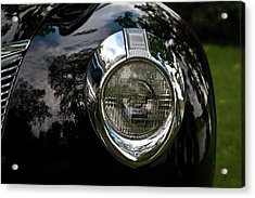 Acrylic Print featuring the photograph  One Eye 13128 by Guy Whiteley