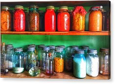 Acrylic Print featuring the photograph  Pantry  by Jame Hayes