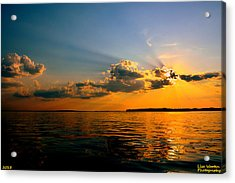 Perfect Ending To A Perfect Day Acrylic Print