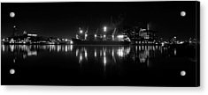 Point Lights Bw Acrylic Print