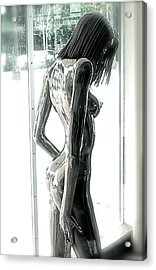 Prior Evolution Of Eve Figure 4  Acrylic Print by Greg Coffelt