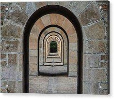 Receding Arches Acrylic Print