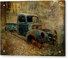 Resurrection Vintage Truck Acrylic Print