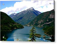 Ross Lake In The North Cascades Acrylic Print