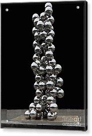 S 46 Bilbao.sculpture  Acrylic Print by Norberto Torriente