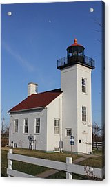 Sand Point Lighthouse Escanaba Acrylic Print