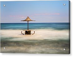 Seaside Bar Acrylic Print
