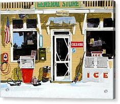 Soda 'n  Gas Acrylic Print by Art Scholz