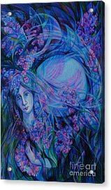 Song Of Lilac Acrylic Print by Anna  Duyunova