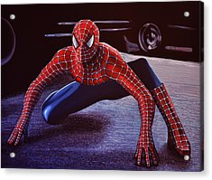 Spiderman 2  Acrylic Print