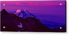 Sunrise Panorama Acrylic Print by Ansel Price