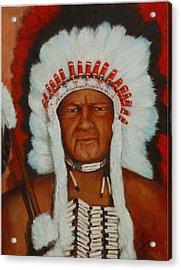 The Chief Acrylic Print by Merle Blair