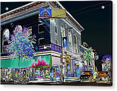The Fillmore West Acrylic Print