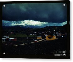 The Town Of Yauco Acrylic Print by Celestial Images