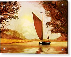 The Wherry Albion Acrylic Print by Valerie Anne Kelly