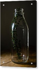 Time In A Bottle   861 Acrylic Print