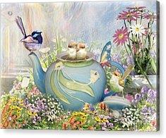 Tiny Tea Party Acrylic Print
