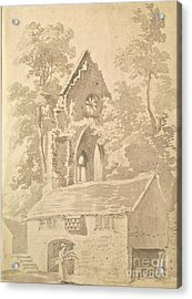 Valle Crucis Abbey Near Llangollen Acrylic Print