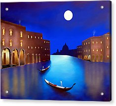 Venice Nights Acrylic Print