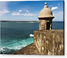 View From El Morro Fort Acrylic Print by George Oze