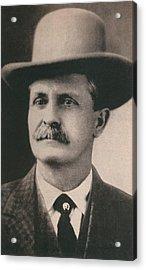 William Bill Tilghman 1854-1924 Acrylic Print