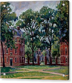 Williams College Quad Acrylic Print by Thor Wickstrom