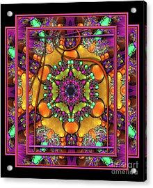 001 - Mandala Acrylic Print