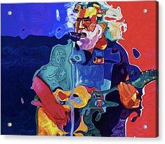 0027 Garcia By Nixo Acrylic Print