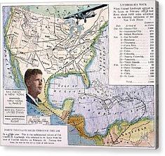 Charles Lindbergh Acrylic Print by Granger