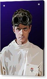005. Horribly Familiar Acrylic Print by Tam Hazlewood