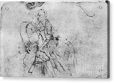 Benjamin Franklin (1706-1790) Acrylic Print by Granger