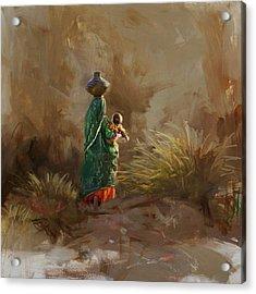 006 Sindh Acrylic Print