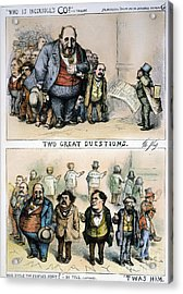 Nast: Tweed Corruption Acrylic Print by Granger