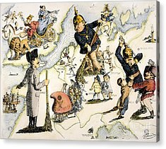 Europe: 1848 Uprisings Acrylic Print by Granger