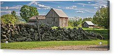 #0079 - Robert's Barn, New Hampshire Acrylic Print