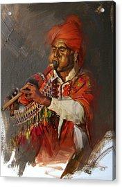 022 Sindh Acrylic Print