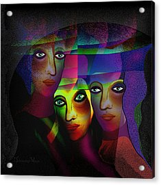 008   Sisters In Pride A Acrylic Print