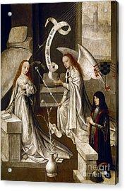 Spain: Annunciation, C1500 Acrylic Print by Granger