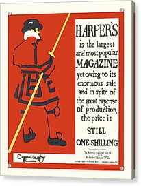 Harpers Magazine Acrylic Print
