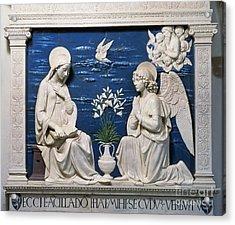 Della Robbia: Annunciation Acrylic Print by Granger