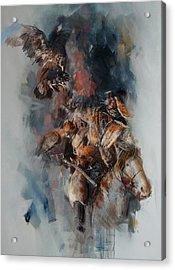 012 Kazakhstan Culture Acrylic Print by Maryam Mughal