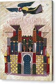 Facundus Beatus, 1047 Acrylic Print by Granger