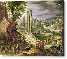 Roman Forum, 16th Century Acrylic Print by Granger
