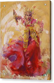 013 Kazakhstan Culture Acrylic Print by Maryam Mughal