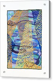 01331 Rise Acrylic Print by AnneKarin Glass