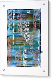01332 Straight Acrylic Print by AnneKarin Glass