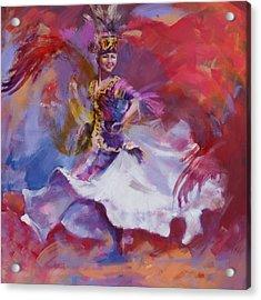 014 Kazakhstan Culture Acrylic Print by Maryam Mughal